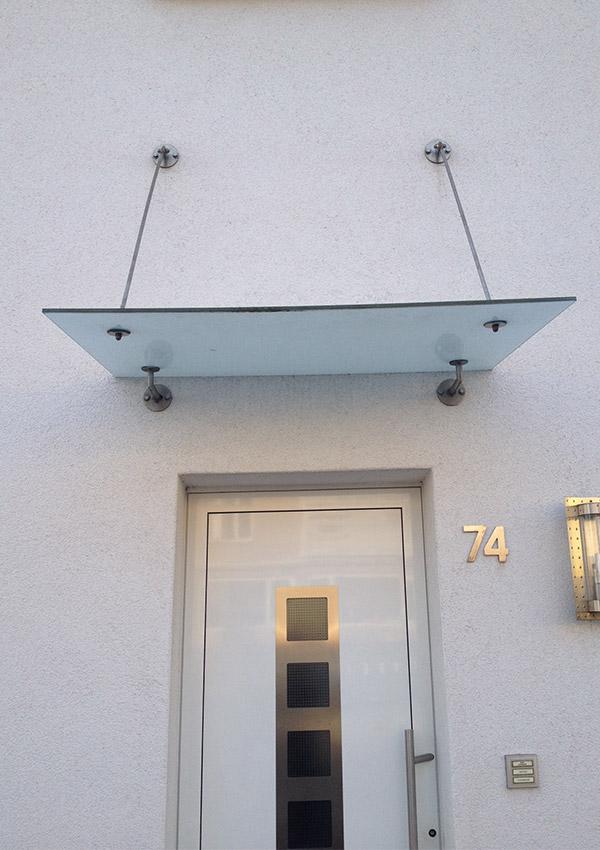 Glasdach Dach Glas modern